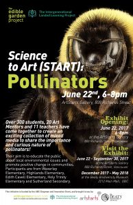 Landed Learning Students Inspire Community to Care for Pollinators Through START Project